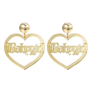 Babygirl Earrings - Always Poppin Shop