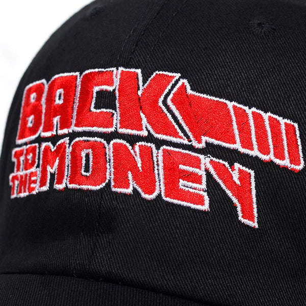 Back To The Money Dad Hat - Always Poppin Shop