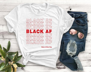 Black AF Tee - Always Poppin Shop