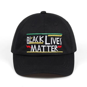 Black Lives Matter Dad Hat - Always Poppin Shop