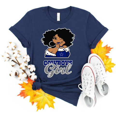 Cowboy's Girl T-shirt - Always Poppin Shop