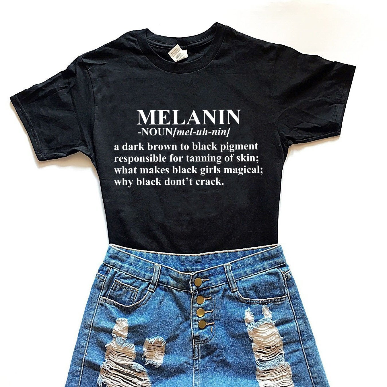 Definition of Melanin Tee - Always Poppin Shop