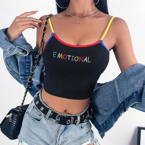 Emotional Crop Top - Always Poppin Shop