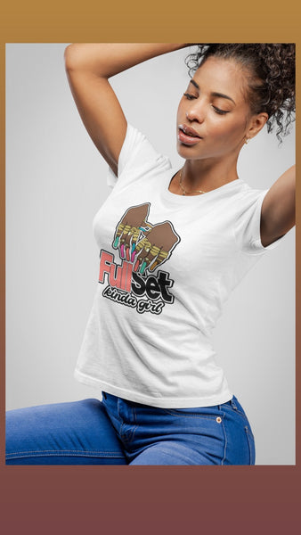 Full Set Kinda Girl T-Shirt - Always Poppin Shop