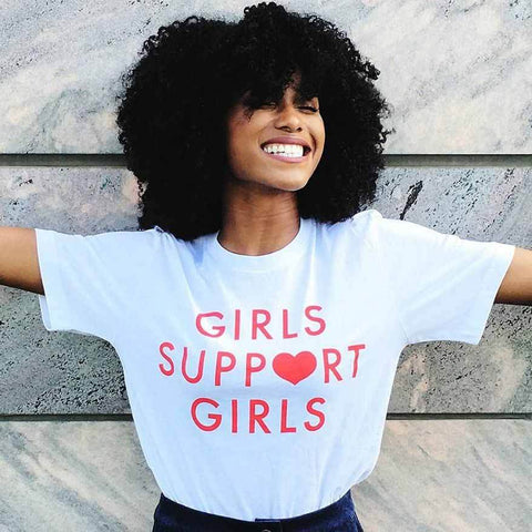 Girls Support Girls Tee - Always Poppin Shop