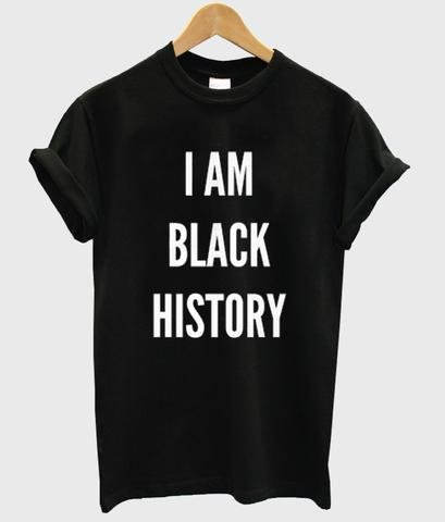 I Am Black History Tee - Always Poppin Shop