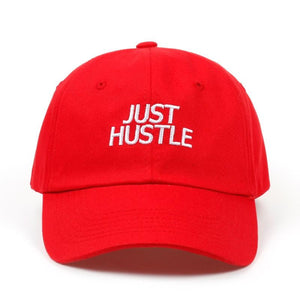 Just Hustle Dad Hat - Always Poppin Shop