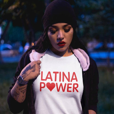 Latina Power Tee - Always Poppin Shop