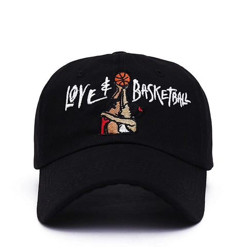 Love & Basketball Dad Hat - Always Poppin Shop