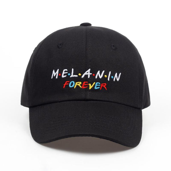 MELANIN FOREVER Dad Hat - Always Poppin Shop