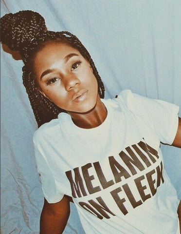 Melanin on Fleek Tee - Always Poppin Shop