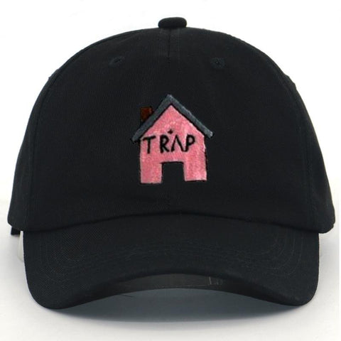 Pink Trap House Dad Hat - Always Poppin Shop