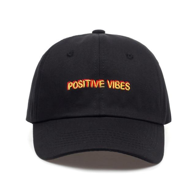 Positive Vibes Dad Hat - Always Poppin Shop