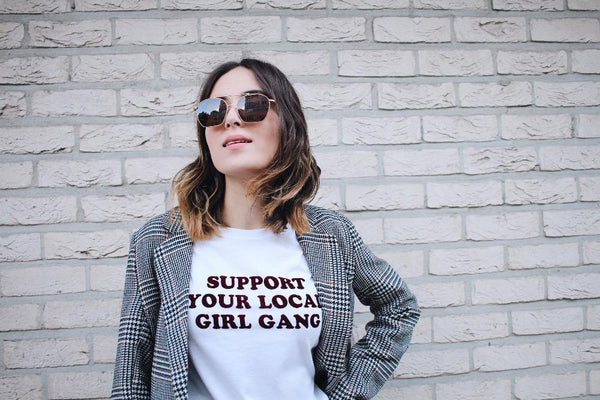 Support Your Local Girl Gang Tee - Always Poppin Shop