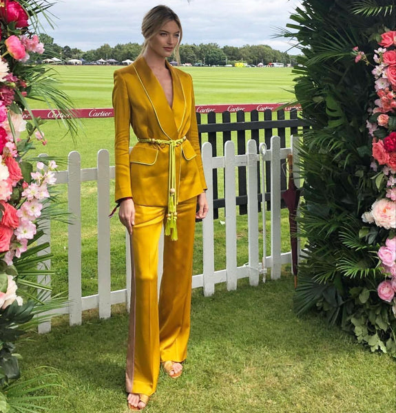 Martha Hunt at Cartier Queen's Cup Polo Final