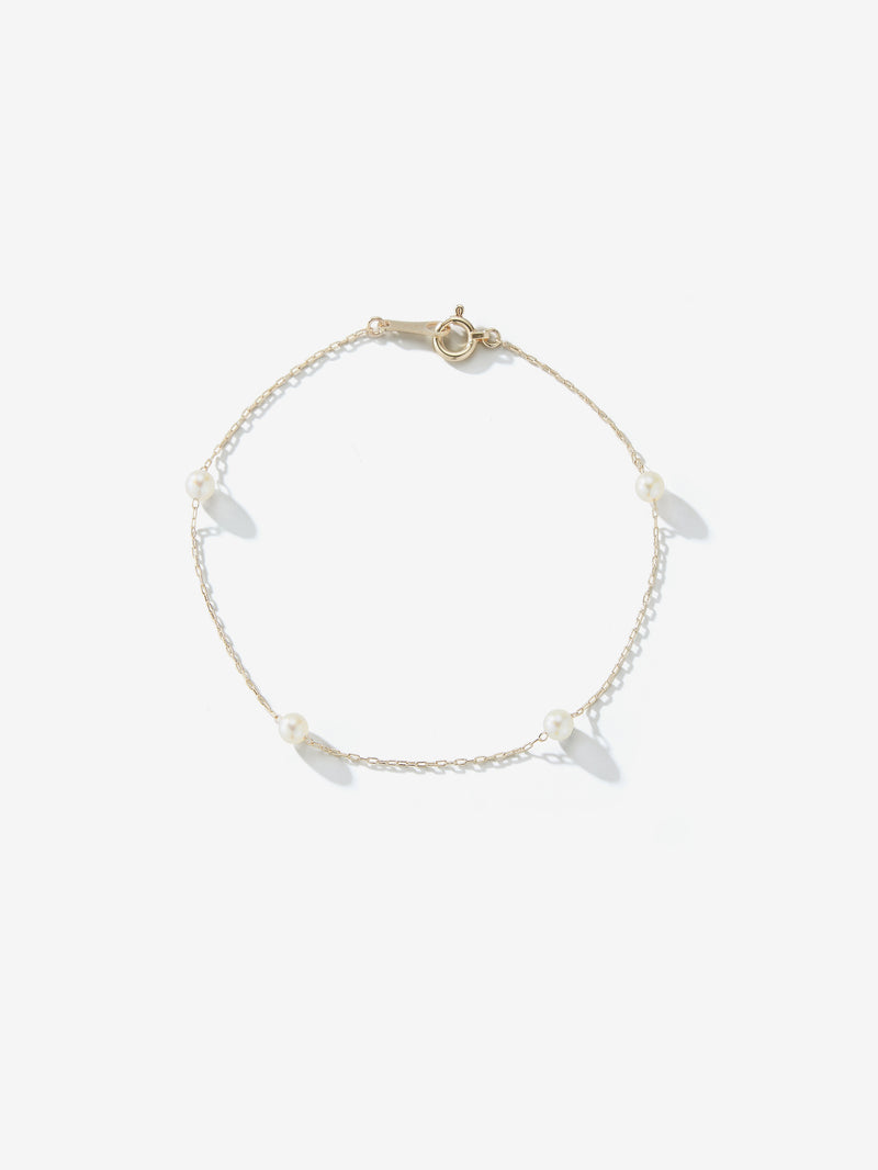 Sea of Beauty Collection.  Close Pearl Chain Bracelet  SBA68