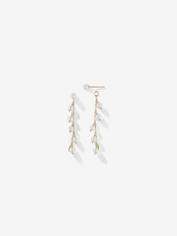 Pearl Fringe Earrings SBE295