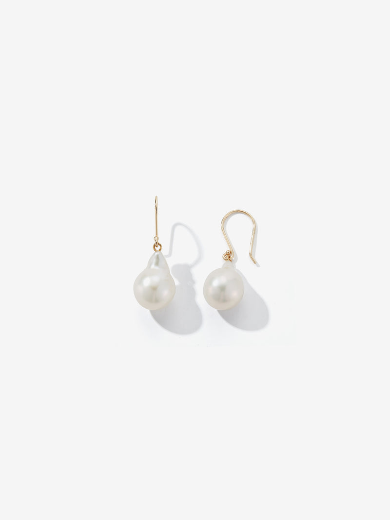Baroque Pearl Drop Earrings SBE306