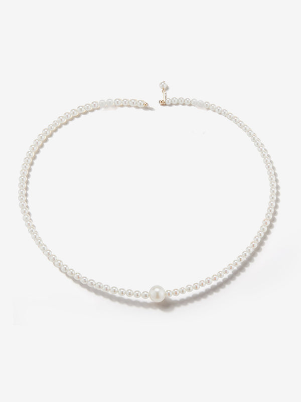 Sea of Beauty Collection.  Single Pearl Collar  SBN167