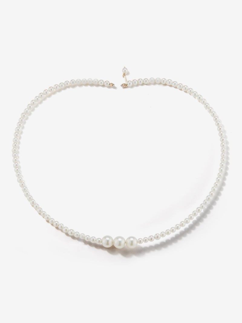 Sea of Beauty Collection.  Multi Pearl Collar  SBN168