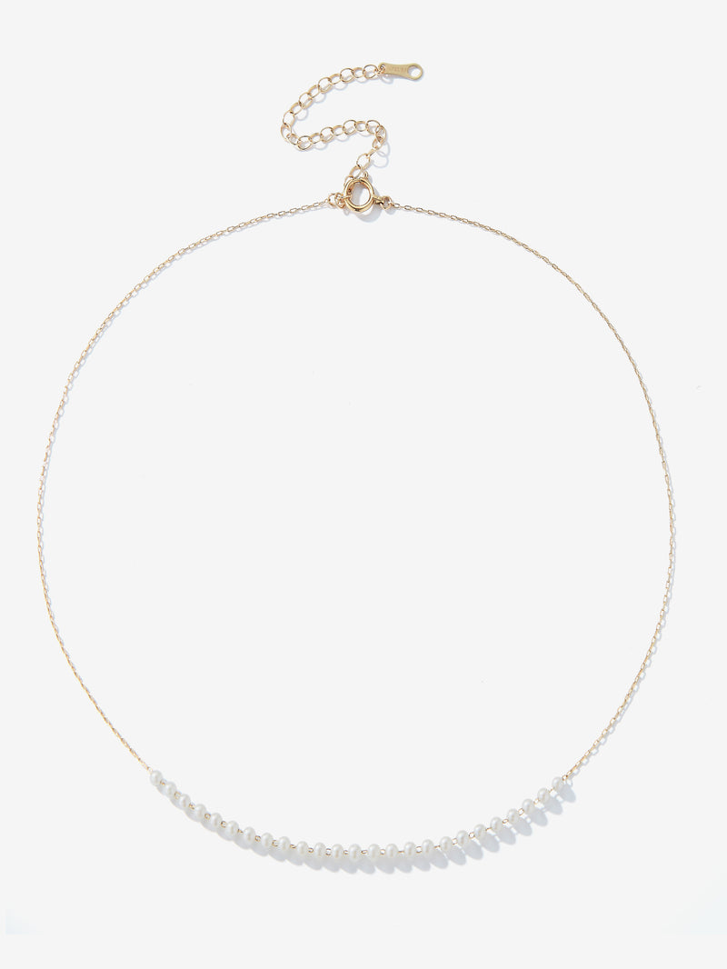 Centered Baby Akoya Pearl Necklace SBN241