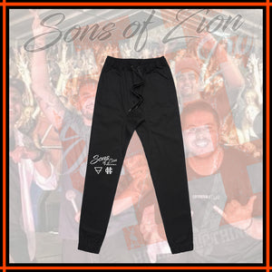 "SONS OF ZION x HIGHER ""Black Pants"""
