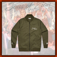 "SONS OF ZION x HIGHER ""Bomber Jacket"""