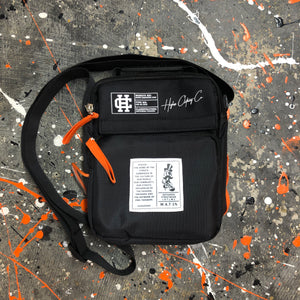 "Higher. ""W.A.T 1%"" Side Bag (BLACK)"