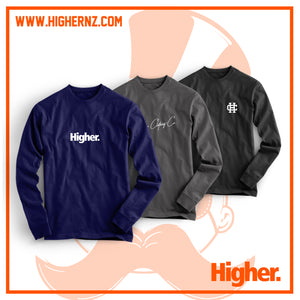 "Triple Longsleeve Tee Pack ""Night"""