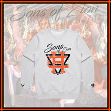 "SONS OF ZION x HIGHER ""White Crewneck"""