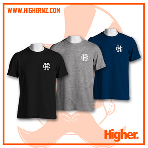 Triple Tee Pack WHITE HC (Black, Grey, Navy)