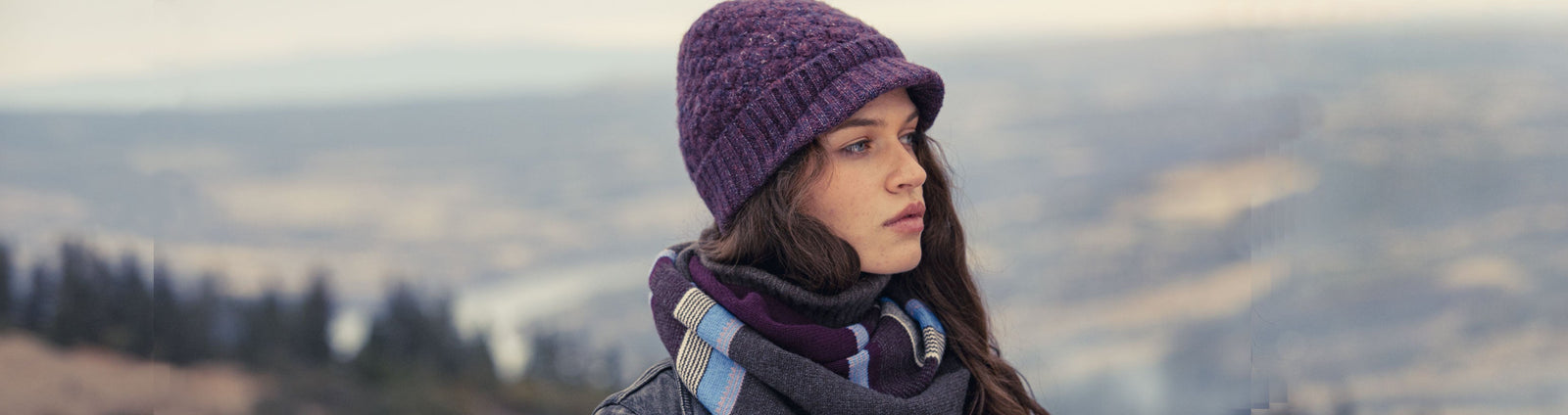 Women's Knit Brim Beanies