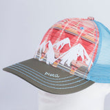 Women's McKinley Trucker Hat Interior