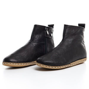 Black - Turkish Boots for Women & Men : Atlantis Handmade Shoes