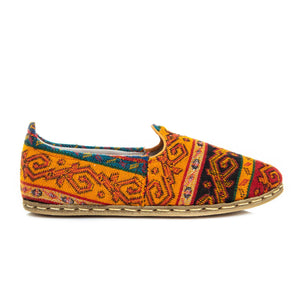 Kilim - Turkish Slip-On Shoes for Women & Men : Atlantis Handmade Shoes