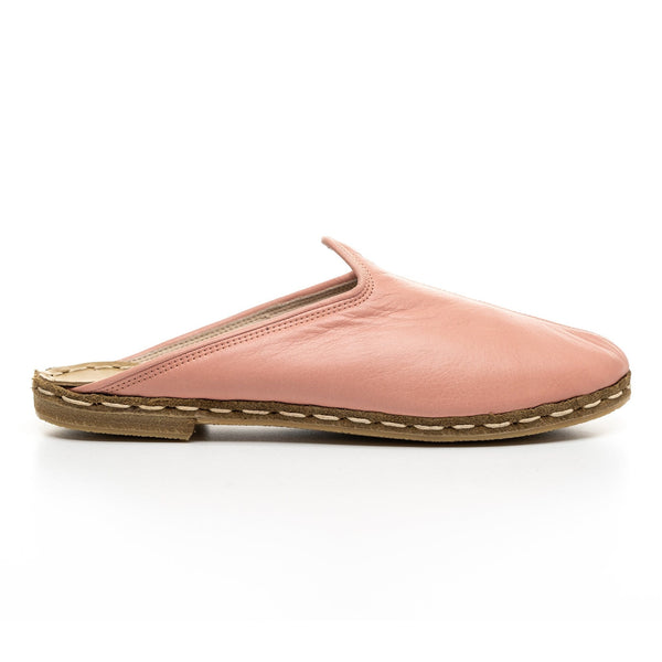 Pink Slippers - Turkish Slippers for Women & Men : Atlantis Handmade Shoes