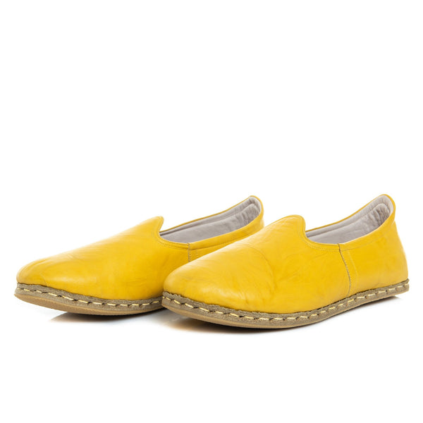 Yellow Cab - Turkish Slip-On Shoes for Women & Men : Atlantis Handmade Shoes