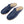 Load image into Gallery viewer, Navy Slippers - Turkish Slippers for Women & Men : Atlantis Handmade Shoes
