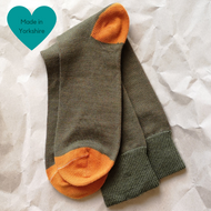 Green & Orange Paired Socks