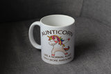 aunticorn mug funny unicorn nz