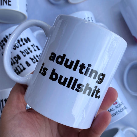 Adulting is. Mug