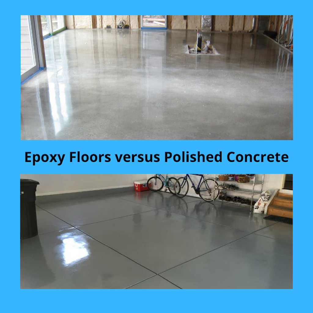 Epoxy Floors versus Polished Concrete | Epoxy Central