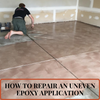 How to Repair An Uneven Epoxy Application