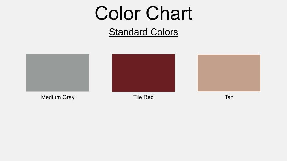 Commando Coat 400X Color Chart