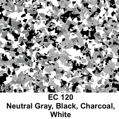 EC120 Neutral Gray, Black, Charcoal, White