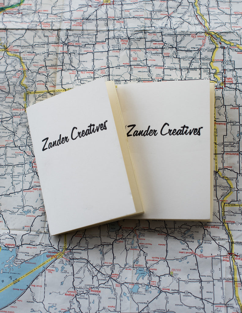 Refillable Notebook Inserts - Zander Creatives