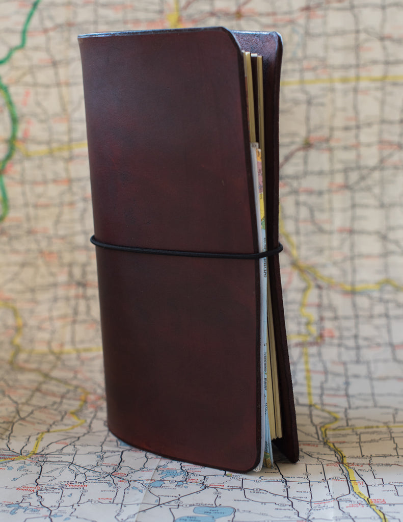 Full Size Dark Oak Notebook - Zander Creatives