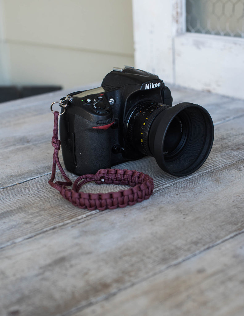 The Santa Barbara Camera Leash - Zander Creatives