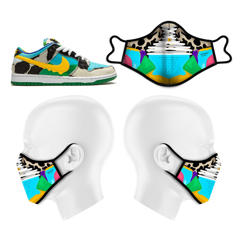 "Inspired by the Nike SB Dunk Low ""Ben & Jerry's - Chunky Dunky""."