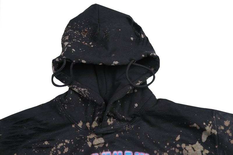C.A.M. World Tour - Black Distressed Hoodie  **Made to Order**